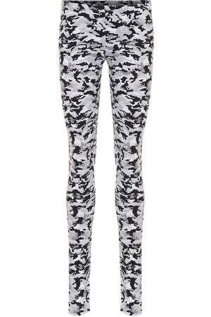 MM6 MAISON MARGIELA Women Leggings - Camo-print stretch-jersey leggings