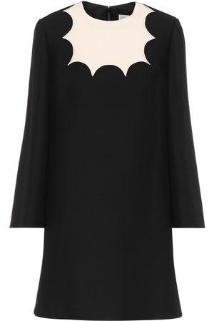VALENTINO Women Mini Dresses - Silk-crêpe minidress