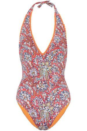 Etro Women Swimsuits - Paisley-print halterneck swimsuit