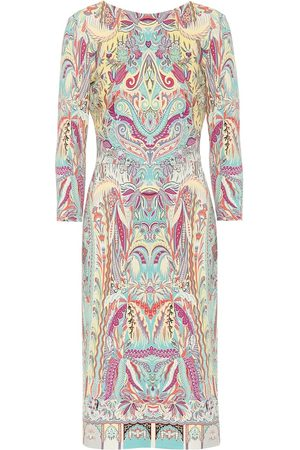 Etro Women Casual Dresses - Printed stretch-jersey midi dress