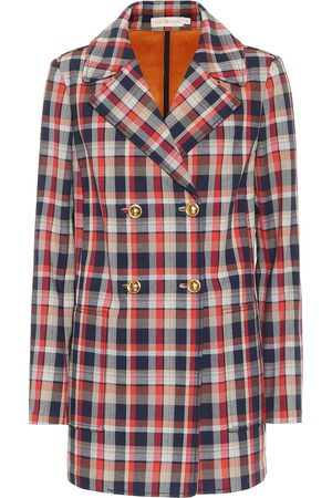 Tory Burch Women Blazers - Checked cotton-blend blazer