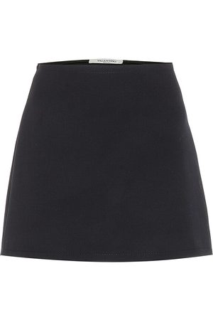 VALENTINO Women Mini Skirts - Wool miniskirt