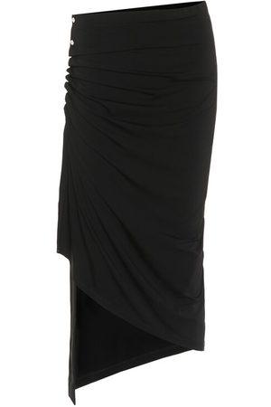 Paco rabanne Women Midi Skirts - Jersey midi skirt