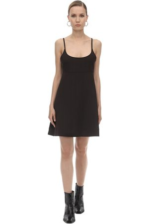 Ganni Viscose Blend Mini Dress