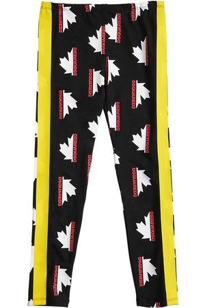Dsquared2 All Over Print Cotton Leggings