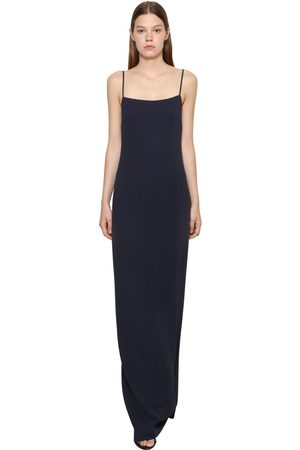Ralph Lauren Long Stretch Cady Dress