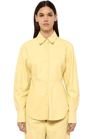 Isabel Marant Xiao Leather Shirt