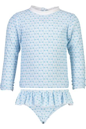 Snapper Rock Infant Girl's Two-Piece Rashguard Swimsuit