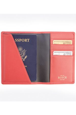 Royce New York RFID Blocking Passport Case