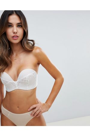 Wonderbra Refined glamour ultimate strapless lace bra a - g cup