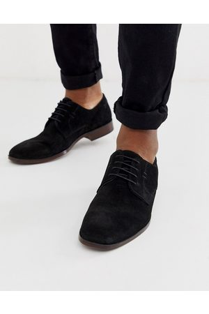 ASOS Derby shoes in suede with natural sole