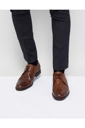 Jack & Jones Premium leather derby shoes in