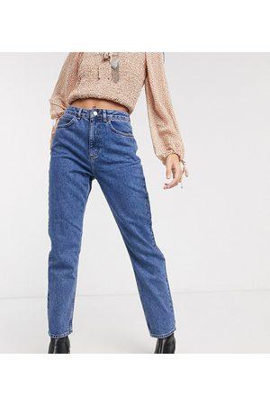 Reclaimed Vintage The '91 mom jean in dark stone wash