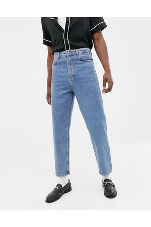 ASOS High waisted jeans in vintage mid wash