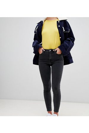 Weekday Body high waist super skinny jeans with organic cotton in