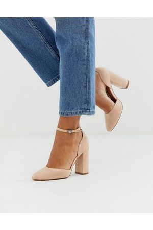 ASOS Women Heels - Pleasant high block heels in taupe