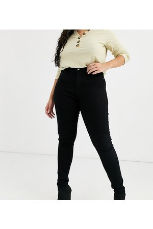 Only High waisted skinny jean in wash