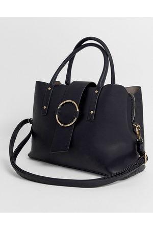 ASOS Tote bag with ring detail