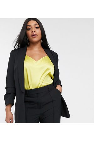 ASOS ASOS DESIGN Curve mix & match suit blazer