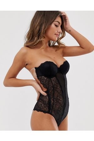 Fashion Forms Lace backless strapless body