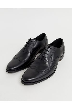 ASOS Oxford brogue shoes in leather