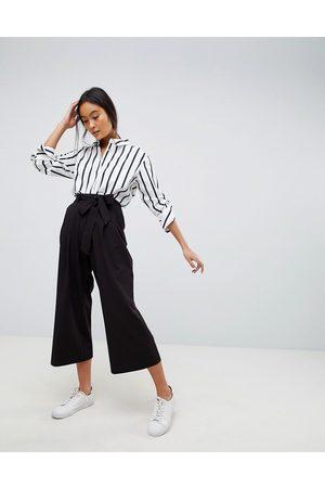 ASOS Mix & match culotte with tie waist