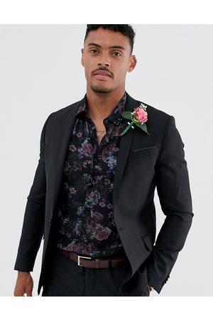ASOS Wedding skinny suit jacket in 100% wool