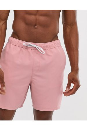 ASOS Swim shorts in light mid length