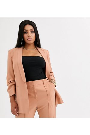 ASOS ASOS DESIGN curve mix & match tailored suit blazer