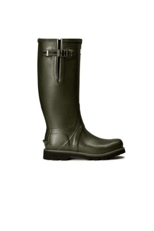 Hunter Men Rain Boots - Men's Balmoral Side Adjustable Rain Boots