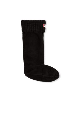 Hunter Original Half Cardigan Knitted Cuff Tall Boot Socks