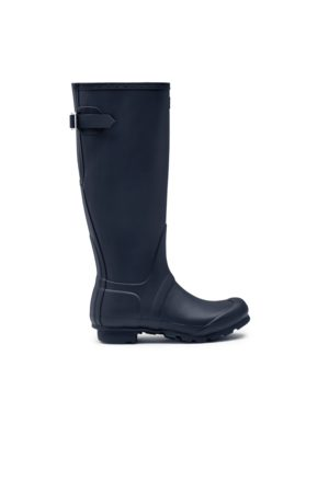 Hunter Women's Original Tall Back Adjustable Rain Boots