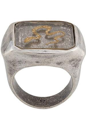 Goossens Men Rings - Snake signet ring