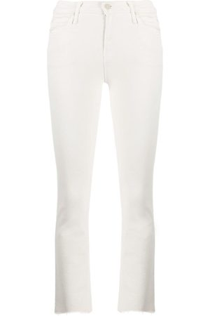 Mother Flared cropped jeans - Neutrals