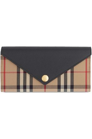 Burberry Women Wallets - Vintage Check continental wallet