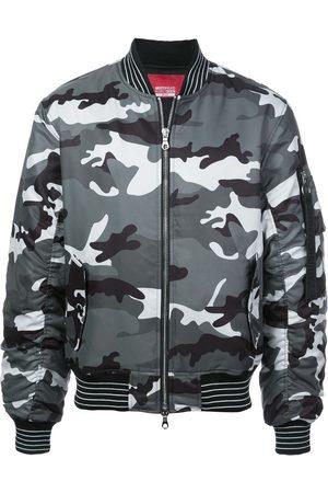 MOSTLY HEARD RARELY SEEN Blinky pinky inky bomber jacket - Grey