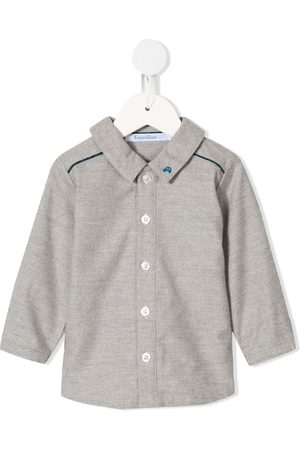 Familiar Embroidered car shirt - Grey