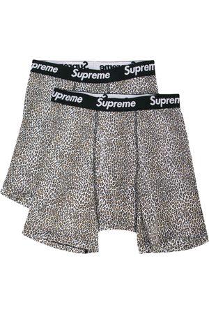 Supreme Leopard print boxers