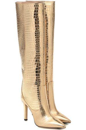 Jimmy Choo Women Thigh High Boots - Mavis 100 leather knee-high boots