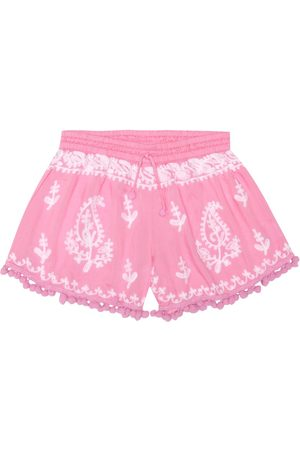Melissa Odabash Embroidered shorts