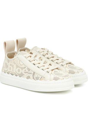 Chloé Lauren lace sneakers