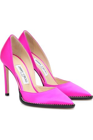 Jimmy choo Exclusive to Mytheresa – Babette 100 satin pumps