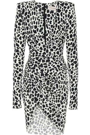 ALEXANDRE VAUTHIER Exclusive to Mytheresa – Animal-print stretch-jersey minidress
