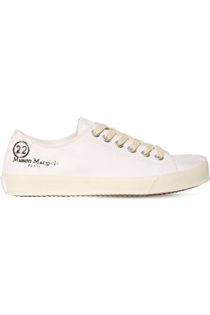 Maison Margiela 20mm Vandal Cotton Canvas Sneakers