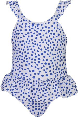 Snapper Rock Infant Girl's Skirted Polka Dot One-Piece Swimsuit