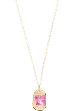 Bleue Burnham The Rose Sapphire & Necklace - Mens - Multi