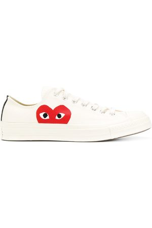 COMME DES GARÇONS PLAY X CONVERSE All Star low-top sneakers - Neutrals