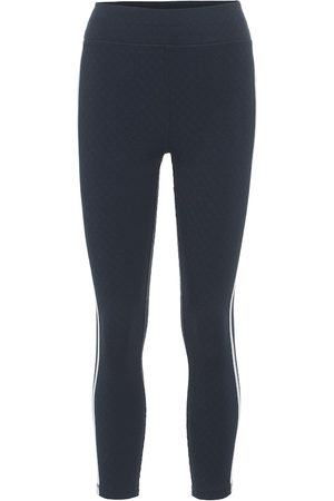 The Upside Jacquard Dance cropped leggings
