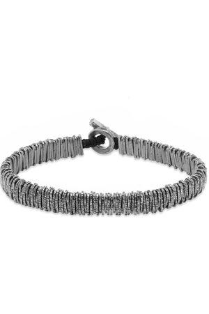 M. Cohen Distressed Barcode Bracelet