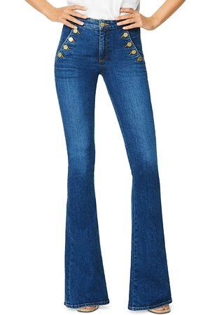 Ramy Brook Helena Flared Leg Sailor Jeans